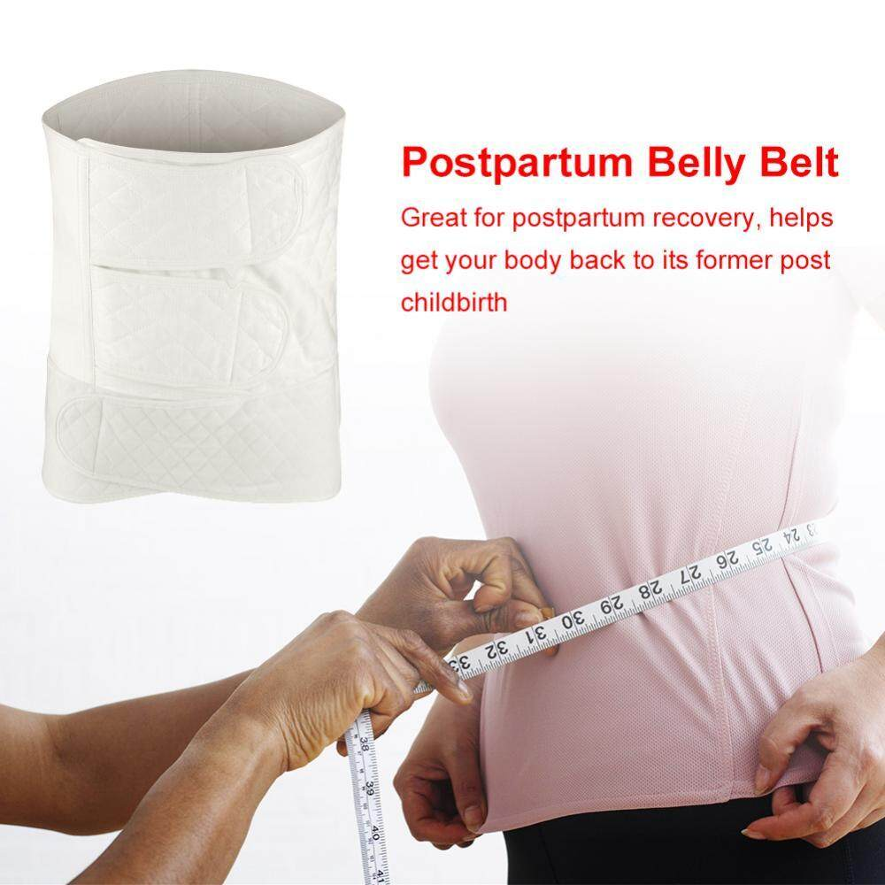 2PCS 5 Layers Postpartum Support Recovery Belly Belt Waist Wrap Band Shapesuit Wire XL - intl