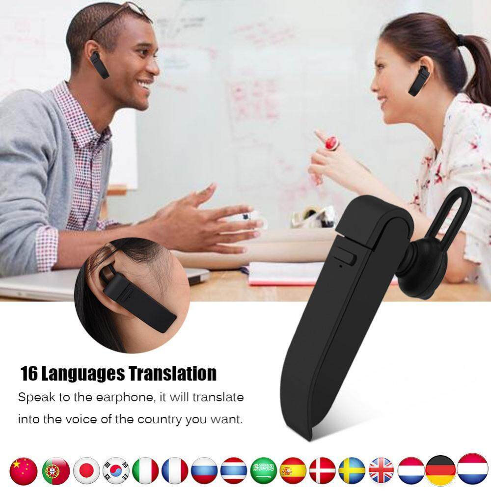 Smart Bluetooth Translator Headphone Intelligent APP Online Translation Wireless Bluetooth Business Headphone Earphone - intl - intl