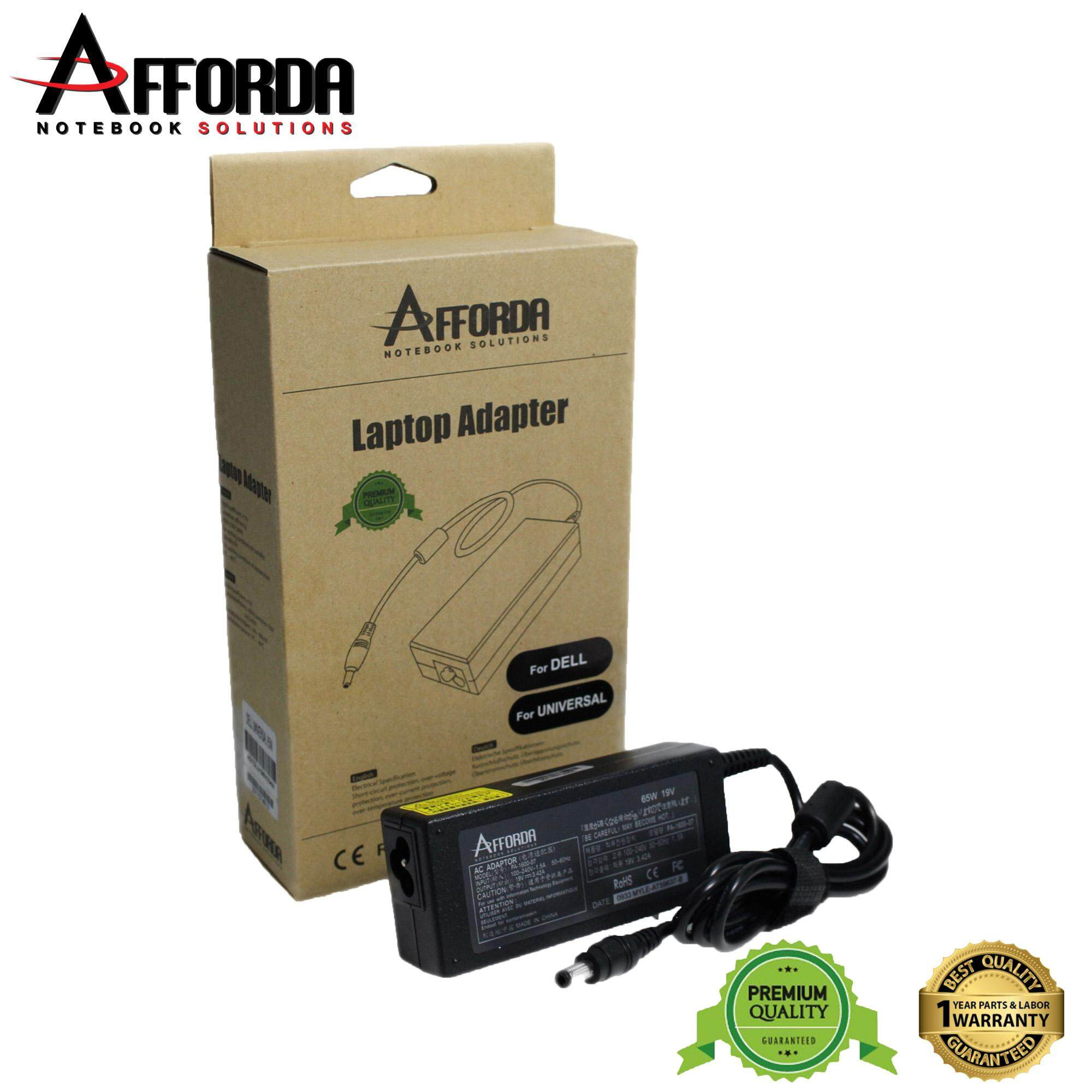 AFFORDA DELL UNIVERSAL ADAPTER 65W FOR DELL NOTEBOOK