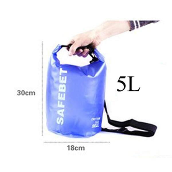 Safebet 5L 10L 15L 20L Transparent Waterproof Shoulder Dry Bag Multipurpose New