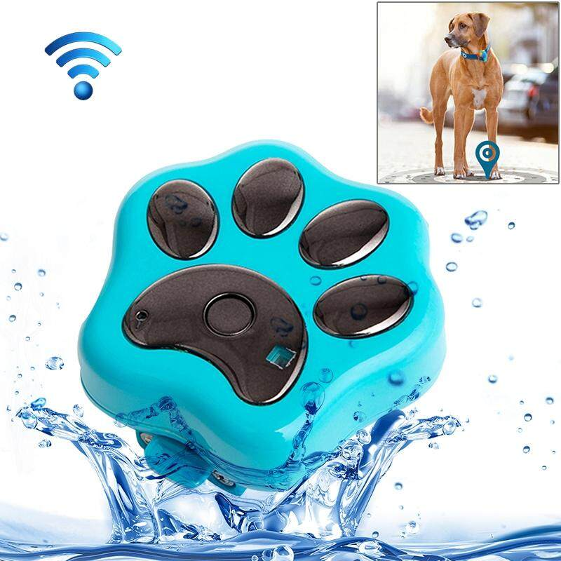 Reachfar Rf-V30 Waterproof Ip66 Anti-Lost Wifi Gsm Smart Gps Tracker For Pet(blue) By Addfun.