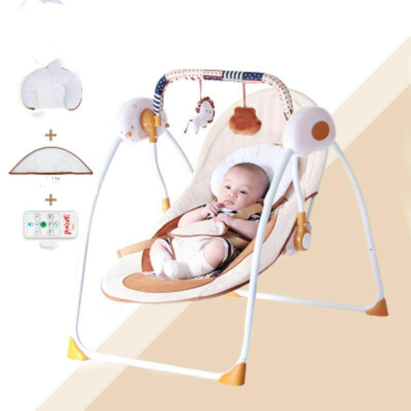 c8888fbd292 Ppimi baby rocking chair electric baby cradle chaise lounge placarders chair  rocking chair bluetooth emperorship newborn