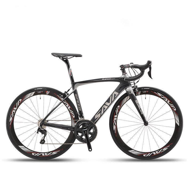 b19b65db32e SAVA HERD 6.0 700C Road Bike 2x11 Speed Ultra-light Carbon Fiber Bicycle  Shimano 5800
