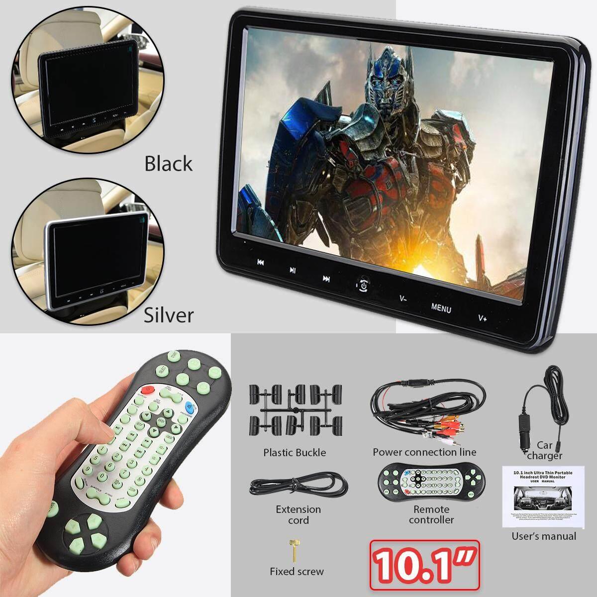 10.1 Car Hd Lcd Touch Screen Headrest Pillow Monitor Sd/dvd/usb Player Ir/fm Nj Wireless Games Touch Key Hdmi - Intl By Audew.
