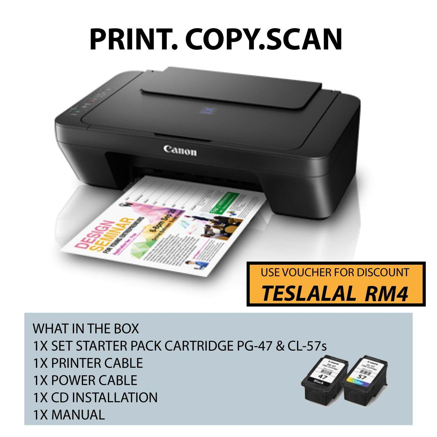 Sell Canon Mg3670 Pixma Cheapest Best Quality My Store Catridge Pg 47 Black Original 100 Myr 178 E410 Ink