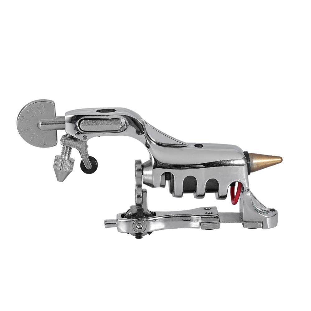 Liner Shader Rotary Tattoo Machine Coloring Lining Permanent Makeup Tool Silver