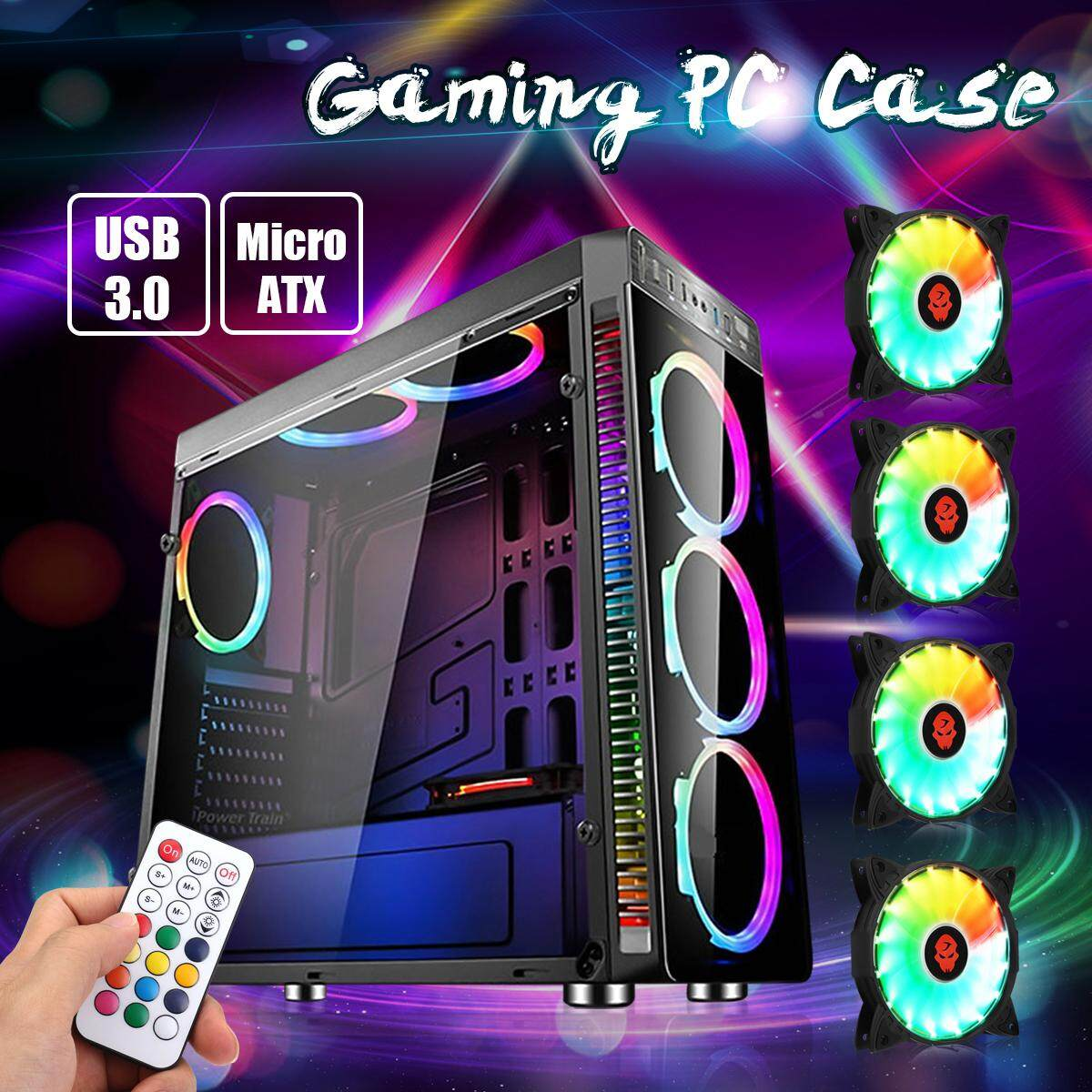 Buy Sell Cheapest Gaming Casing Atx Best Quality Product Deals Sharkoon Dg7000 G Green Computer Pc Case Full Tower Usb 30 With 4 Rgb 120mm Cooling Fans
