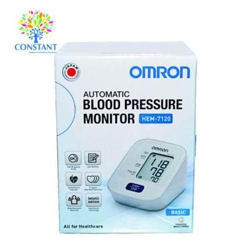 Omron Blood Pressure Monitor HEM-7120