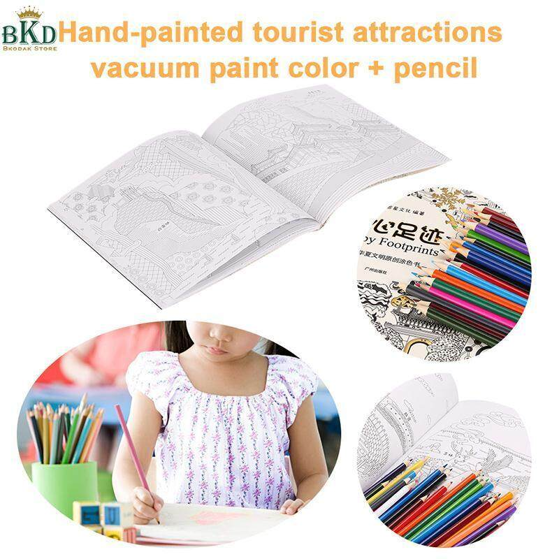 Bkodak Store 1 Set W/ Specialty Pencils Coloring Books Painting Books