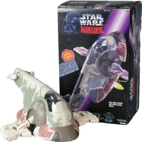Bintang Wars Bintang Wars Boba Fetts Budak I dengan Han Solo Di Carbonite Bayangan Kekaisaran Mainan-Internasional
