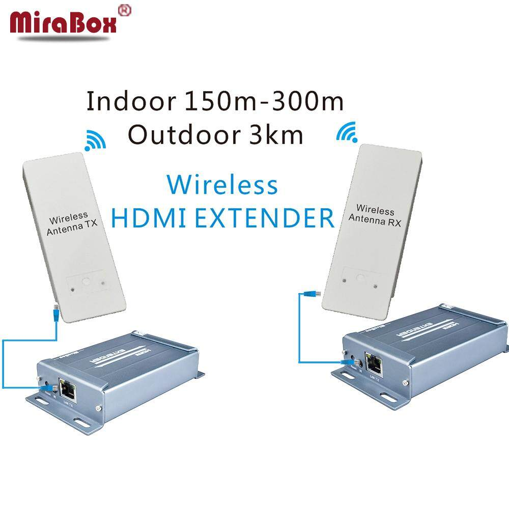 Features Wireless Hdmi Extender Transmitter Receiver System 1080p Video Audio Mirabox Hsv891w With Extrator Support 58ghz And