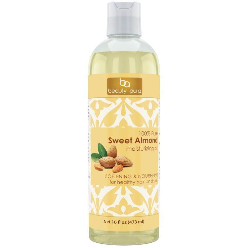 Beauty Aura Pure Sweet Almond Oil (16 Fl Oz)