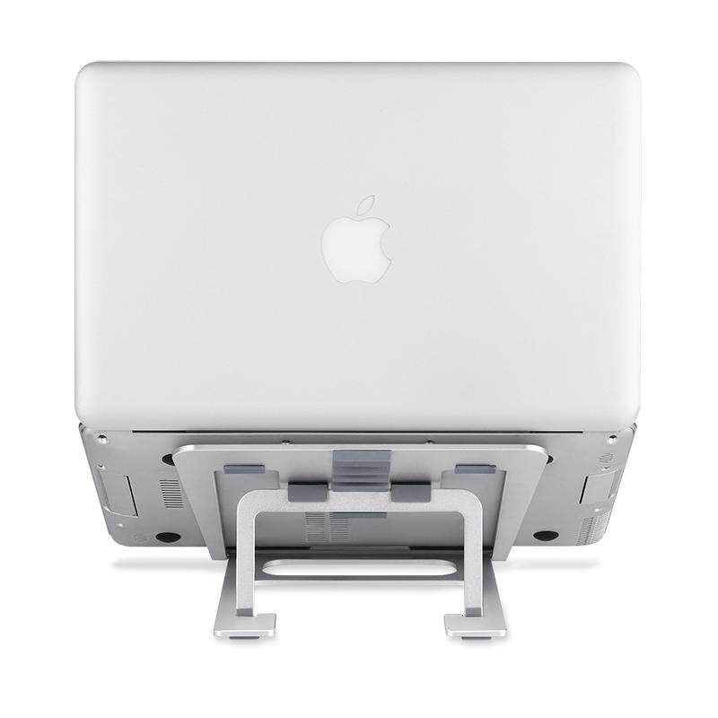Apple Laptop Stand Female Desktop Neck MAC Book Extra High Base Pro Aluminium Alloy Heat Dissipation Shelf Air Portable Storage mac xiaomi Lenovo Office height Adjustable Folding Brace