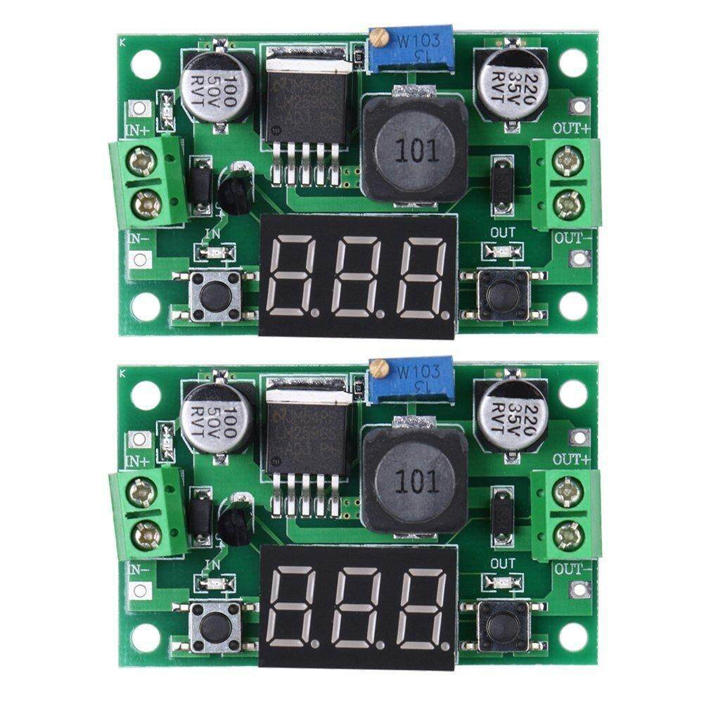 Features 5pc Xl4015 Dc Step Down 5a Adjustable Power Supply Cloudsea 2x Lm2596s Buck Converter Module Green
