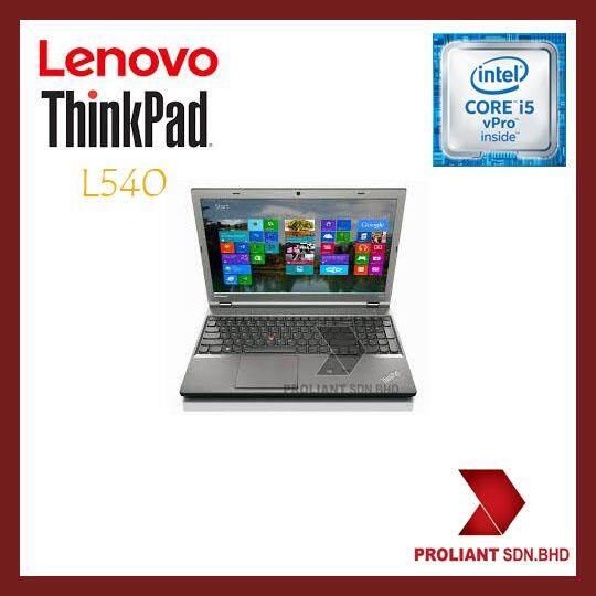 LENOVO THINKPAD L540 (15 INCH) [CORE I5-VPRO/ 4GB/ 1TB] LENOVO WARRANTY Malaysia