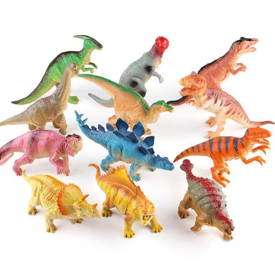 Review New Jurassic Dinosaur Toys Simulation Dinosaurs For