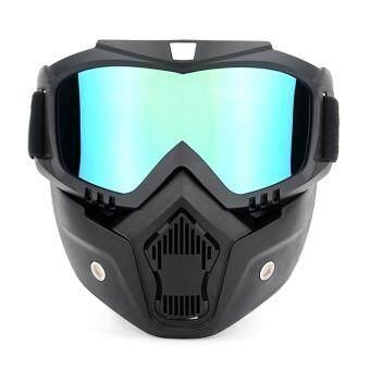 Pencarian Termurah Sepeda Motor Kacamata UVA400 Perlindungan Berski Musim Dingin Goggle Naik Olahraga Skating Goggle dengan Masker Helm-Intl sale - Hanya ...