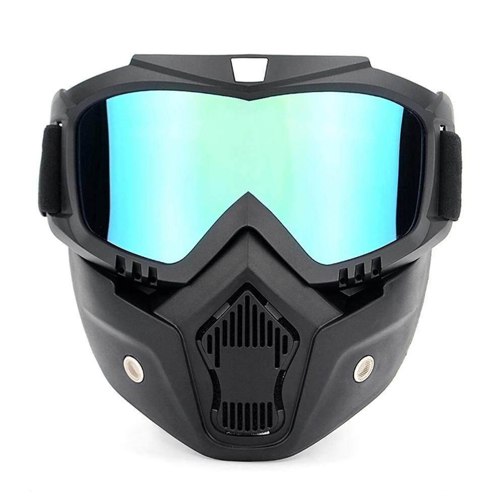 Masker Anti Polusi Termurah Polar Tactical Outdoor Sepeda Motor Kacamata Uva400 Perlindungan Berski Musim Dingin Goggle Naik Olahraga Skating Dengan Helm