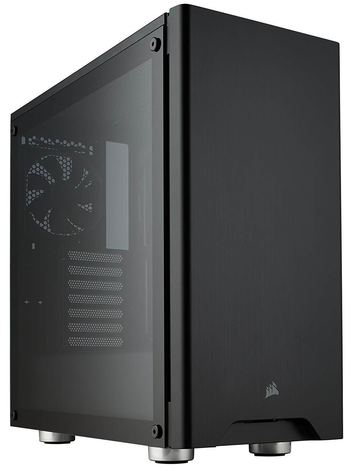 Corsair Carbide 275R Tempered Glass Mid-Tower Gaming PC Computer Case (Black/White) Malaysia