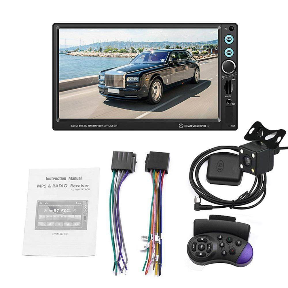 Top-Sky 12V 8013G Car 7 Inch HD Touch Screen Car Bluetooth Call Radio  MP5/FM Player GPS Navigation Supports Bluetooth with Remote Control With