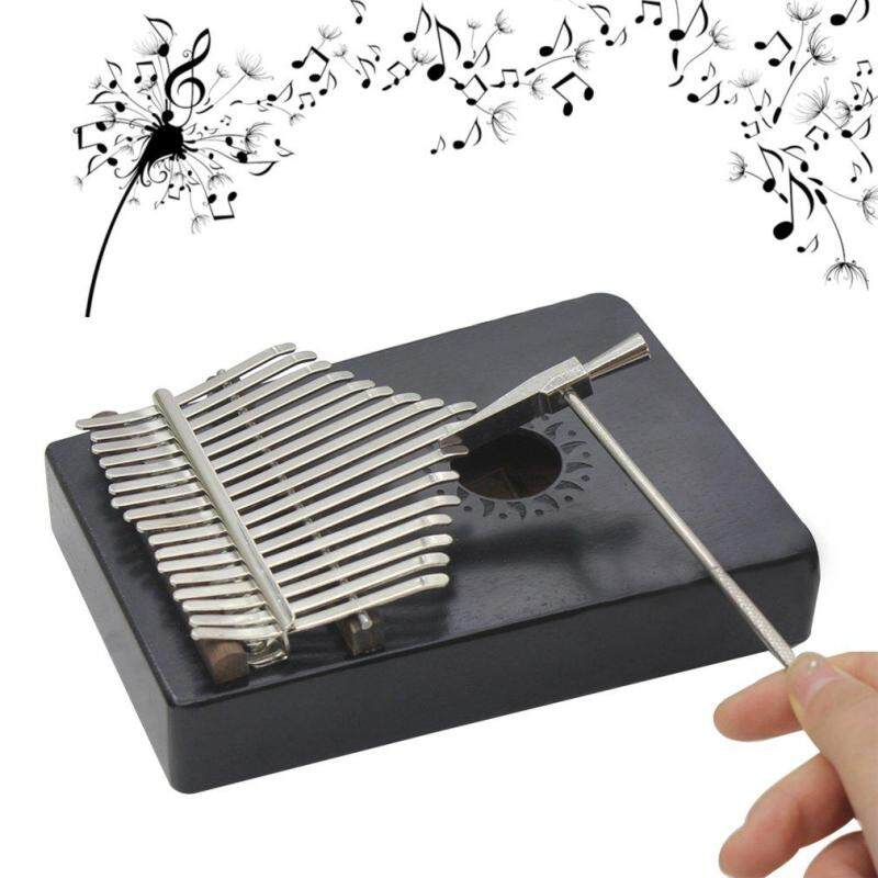 ELEC Natural 17 Keys Finger Thumb Pocket Piano Kalimba Mbira Thumb Piano Great Gift