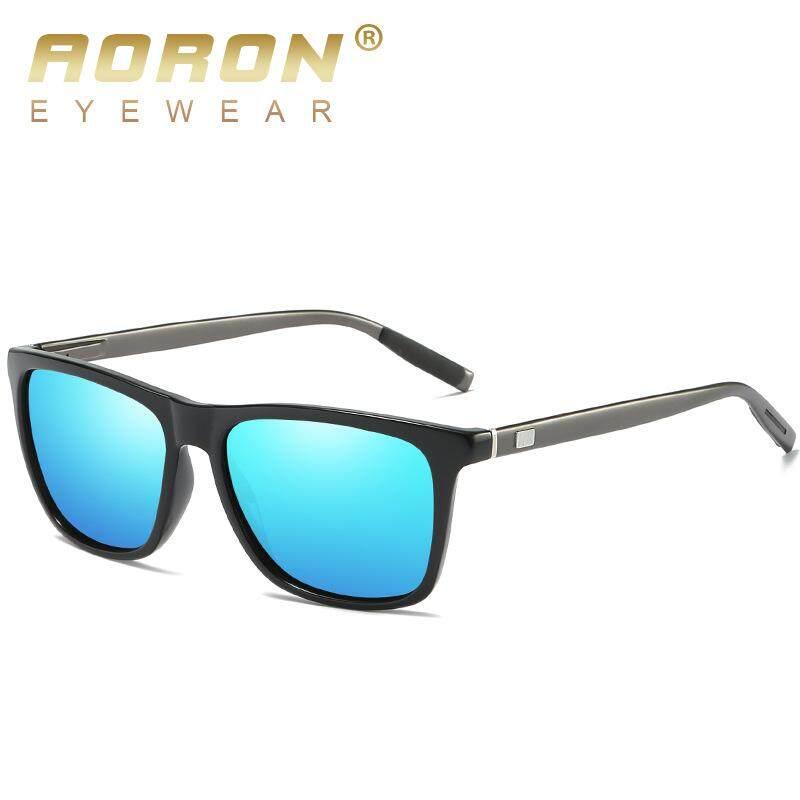 Detail Gambar WY Ting Baru Pria dan Wanita Kacamata Hitam Terpolarisasi Warna-warni Cermin Kacamata