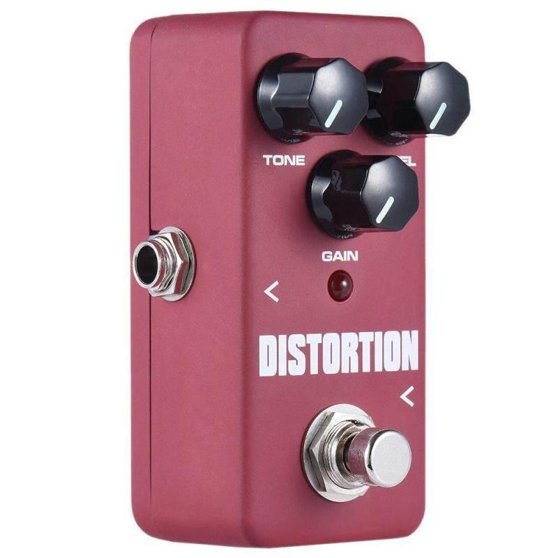 1 Pcs Distortion Effects Pedal Elecronic Guitar Single Pedal FDS-2 Aluminium - intl