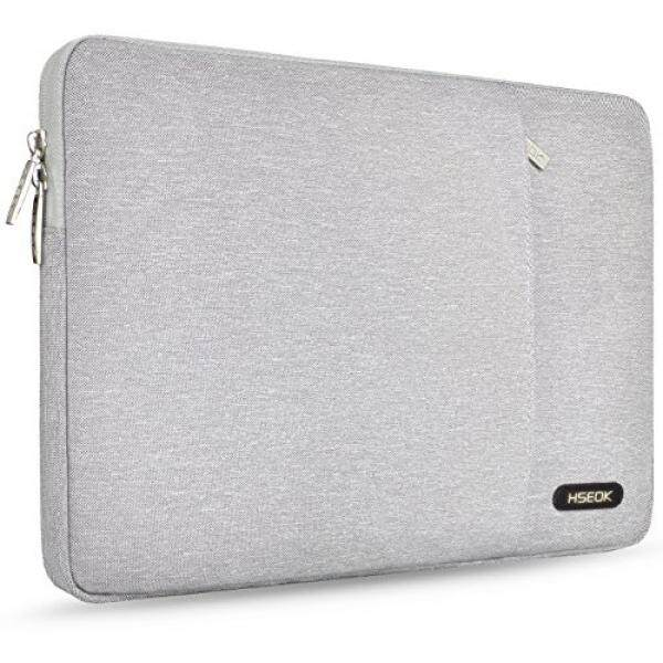 Tablet Sleeves Accessories HSEOK Laptop Sleeve for 13-13.3 inch MacBook Air MacBook Pro Retina Late 2012 - Early 2016 iPad Pro 12.9, Chromebook Tablet Apple ASUS Lenovo Dell Carrying Case Bag Cover, Spill-Resistant, Gray - intl