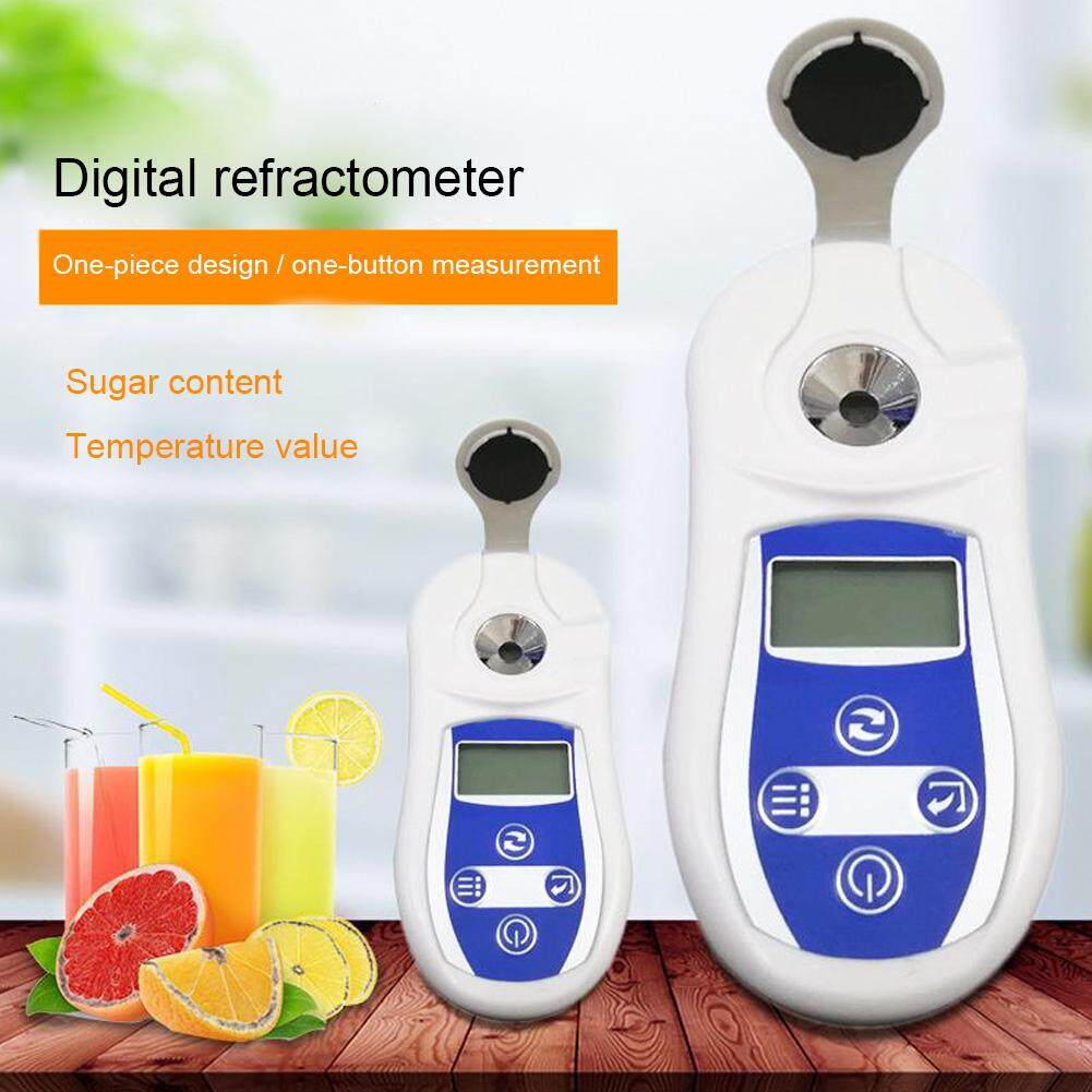 New hot sale yieryi 100% Digital Brix Refractive Index Refractometer 0-53% Brix Sugar In Wine Concentration