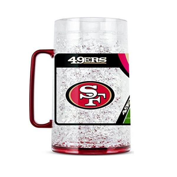 Duck House NFL San Francisco 49Ers 38oz Crystal Freezer Monster Mug - intl
