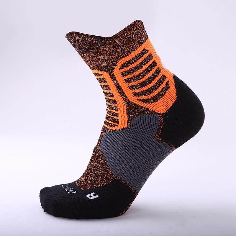 ROJEY Men's Sport Socks Professional Basketball Elite Socks Outdoor Sport Sock