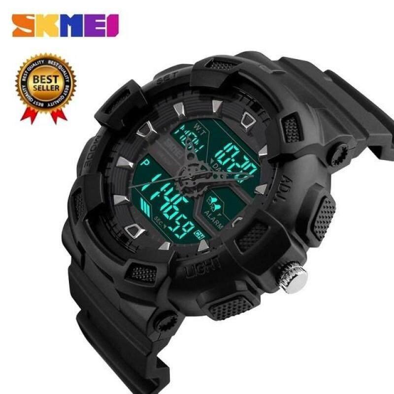 SKMEI 1189 Mens Watch Outdoor Quartz Sports Watch Fashion Casual Multifunction 50 Meter Waterproof Watch Boys Relogio Masculino Malaysia