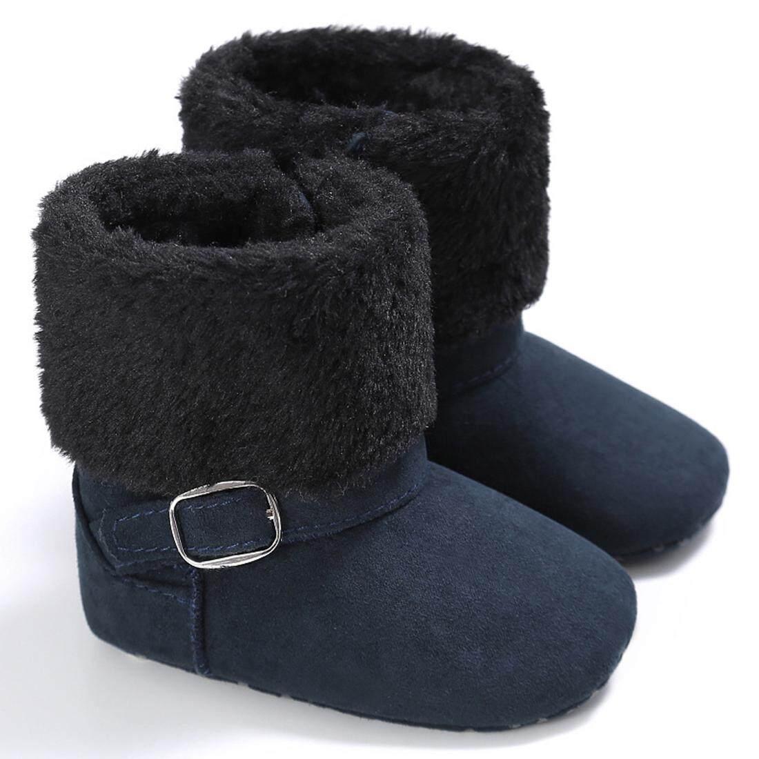 5a38a711945 Newborn Toddler Baby Boy Girl Warm Soft Sole Snow Boots Crib Shoes 0 -18Months