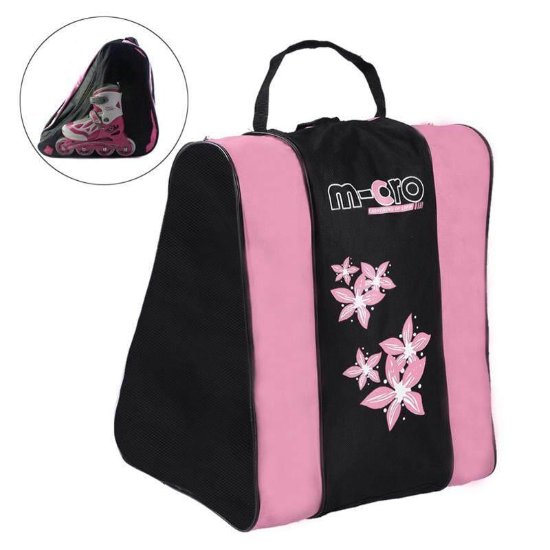 3 Tier Portable Roller Skating Bag Ice Skate Shoulder Strap Carry Case Pack By Threegold.