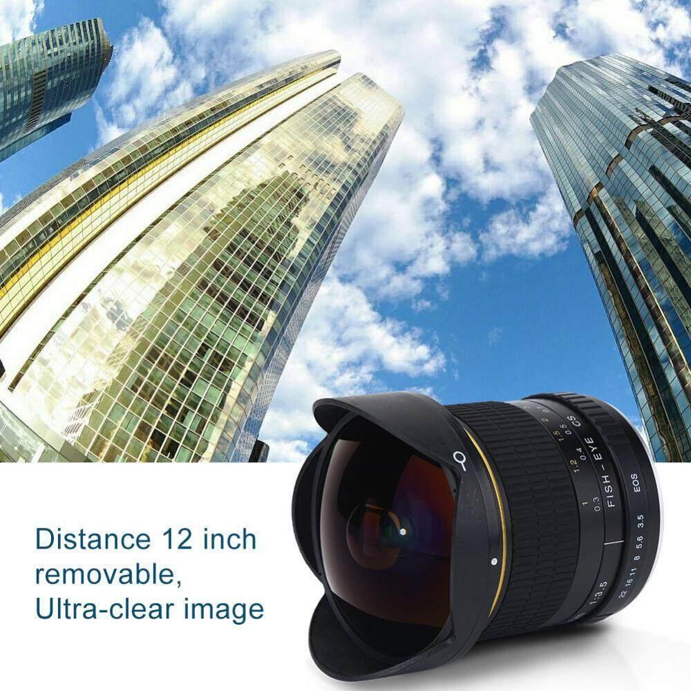 Lightdow 8mm f/3.5 Fisheye Super Wide Angle Lens Accessories for Nikon DSLR Mount