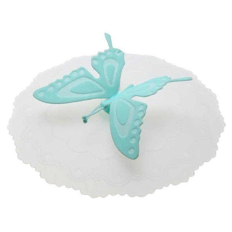 Cute Anti dust Silicone Glass Cup Cover Coffee Seal Lid Cap Elephant Source · lucky G Anti dust High Quality Silicone Elegant Butterfly Sealed Glass Tea Cup
