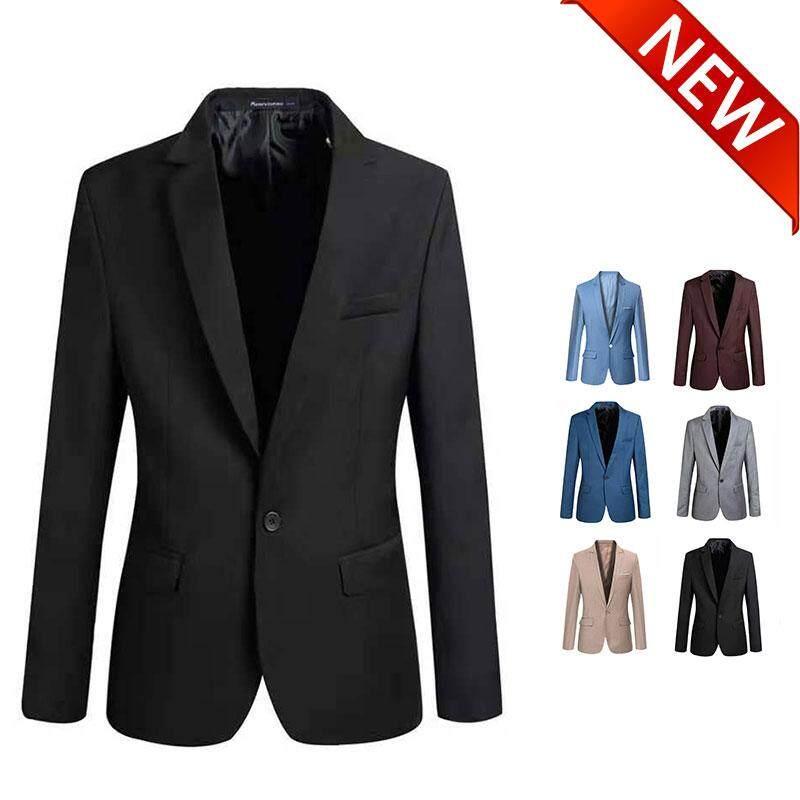 Tf แฟชั่นใหม่แฟชั่นเกาหลีผู้ชายชุดขนาดเล็กเสื้อแจ็คเก็ตแบบบาง [คุณภาพดี] By Trends From Korea.