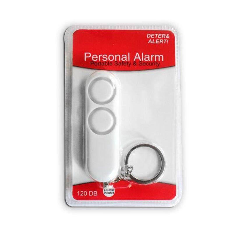 Hot Deals Fashion 120dB Anti-rape Device Dual Speakers Loud Alarm Alert Keychain Pendant