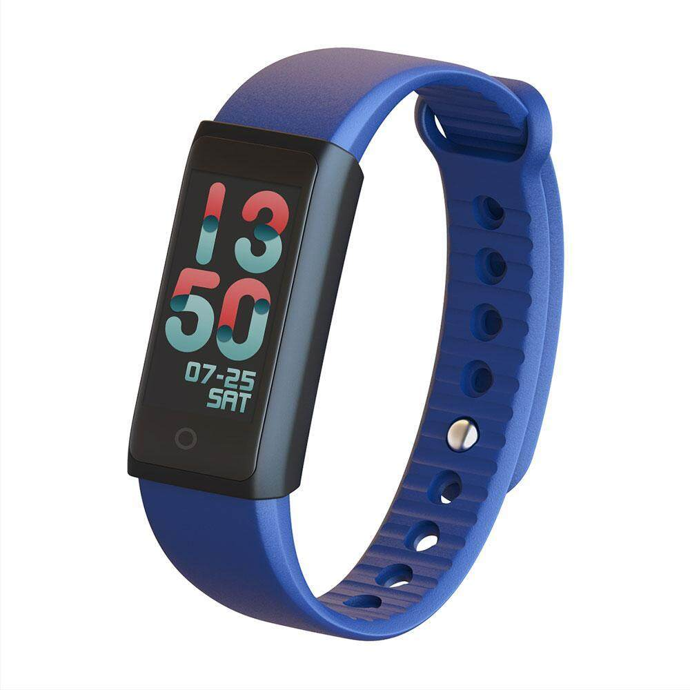 wanying Waterproof Colorful OLED Touch Screen Waistwatch Smart Bluetooth Bracelet for Android IOS Smartphone - intl