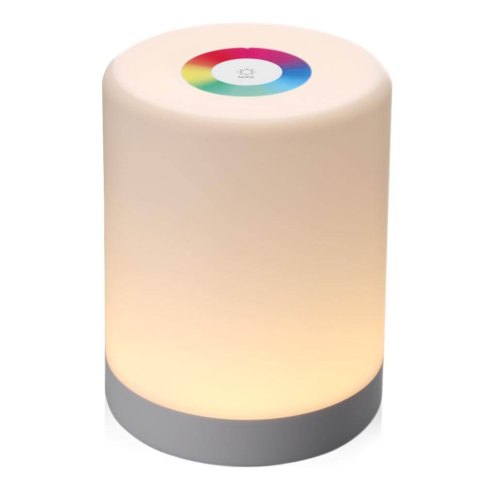 Led Touch Control Night Light Induction Dimmer Lamp Smart Bedside Lamp Dimmable Rgb Color Change Rechargeable Smart - Intl By Yocho.