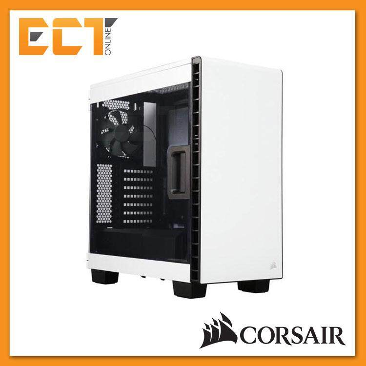 Corsair Carbide Series Clear 400C Compact Mid-Tower Case - White/ Black Malaysia
