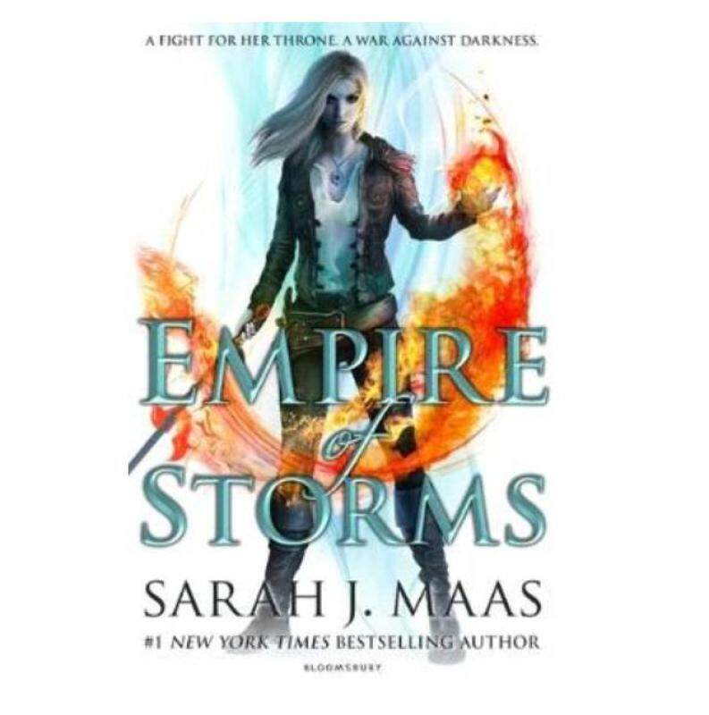 Empire of Storms ( Throne of Glass #5 ), Novel Malaysia