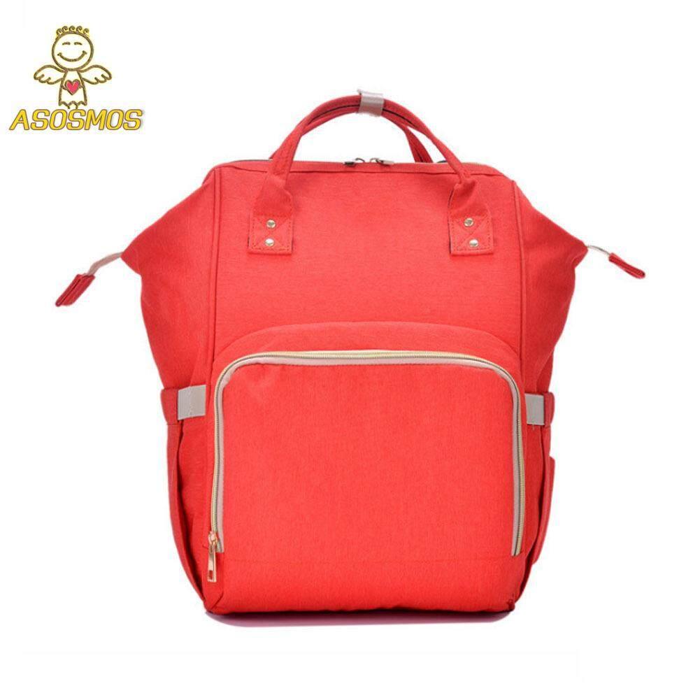 ASM Mommy ความจุมากผ้าอ้อมเด็กกระเป๋าเป้สะพายหลังผ้าอ้อม Nursing Travel กระเป๋าสำหรับดูแลเด็ก