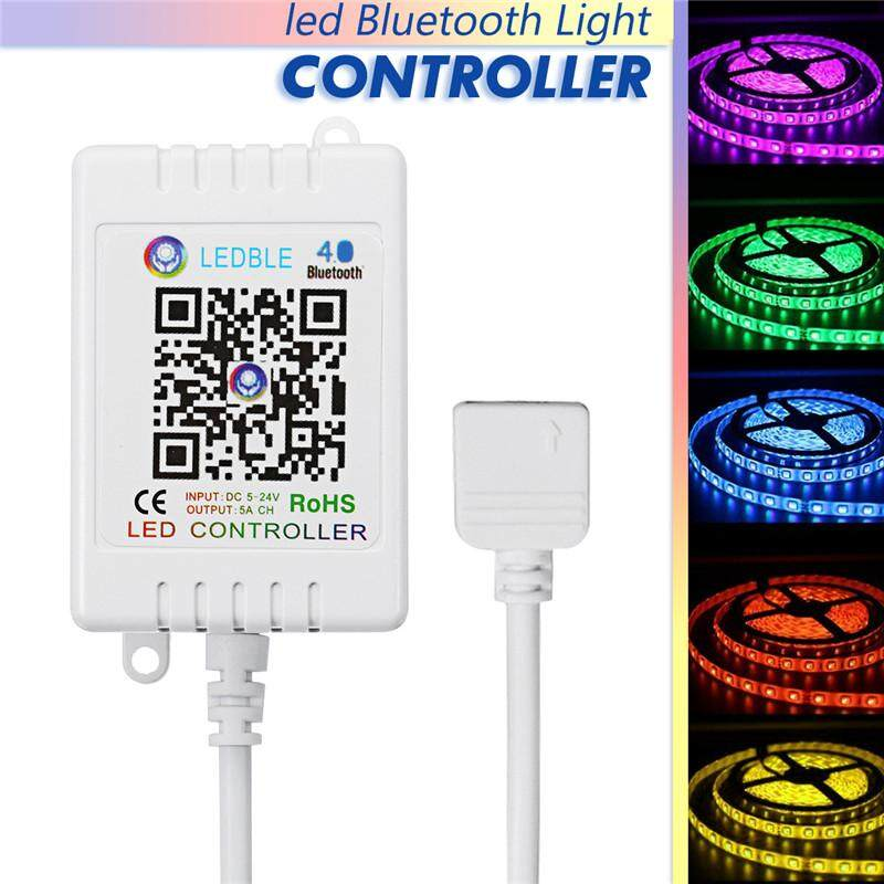 Hình ảnh Bluetooth APP LED 30m Remote Controller for RGB/RGBW Music LED Strip Light Tool - intl