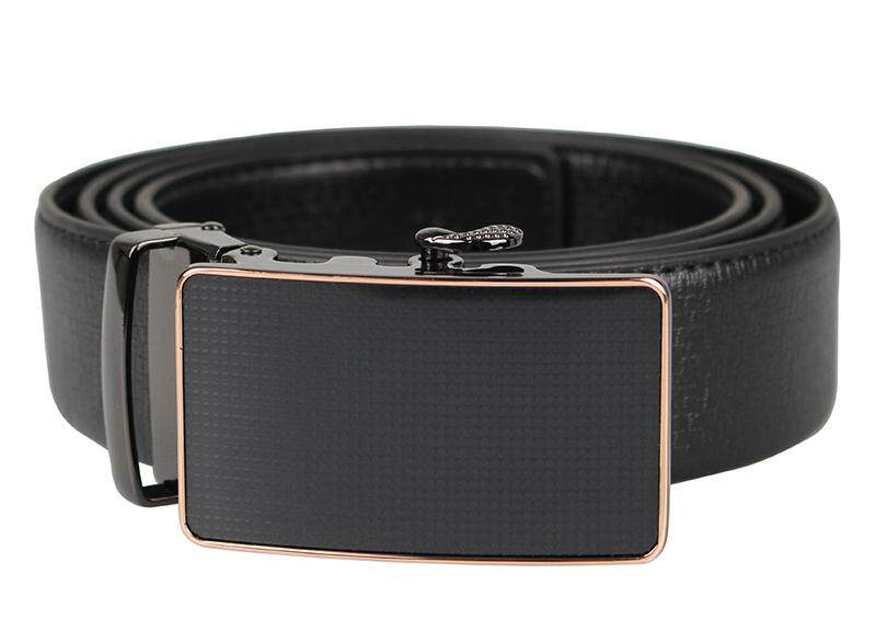 Tomaz 1642 Leather Belt (Black)