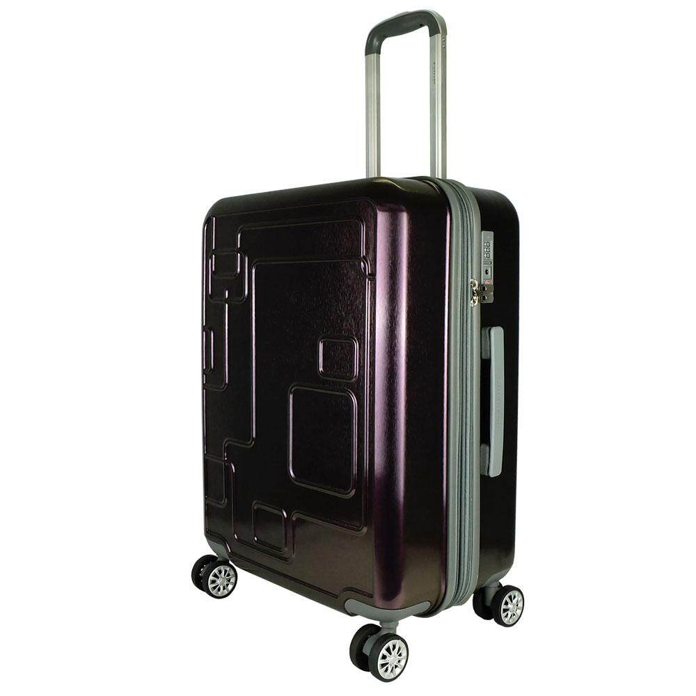 Giordano GA1793 28 inch Polycarbonate Expandable Hard Case Trolley Luggage With TSA Lock