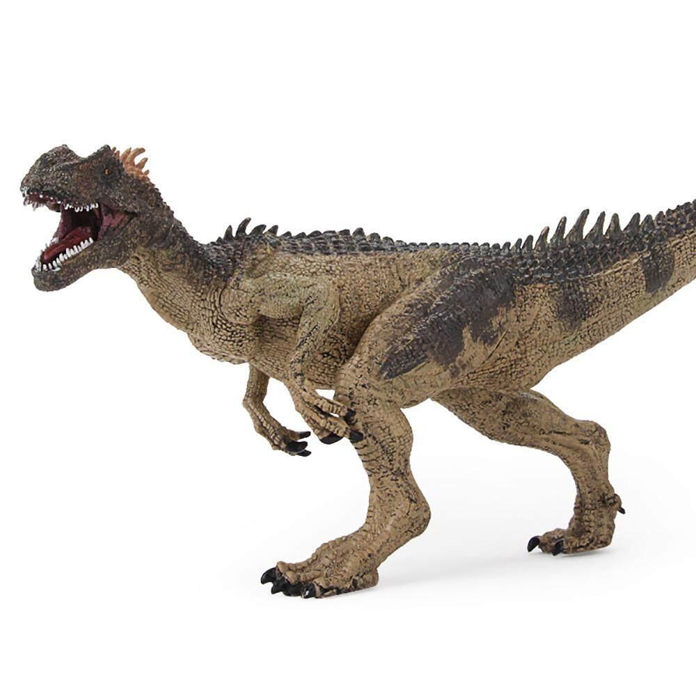 การศึกษาจำลอง Allosaurus โมเดลไดโนเสาร์เด็กของขวัญของเล่นเด็ก - Intl.