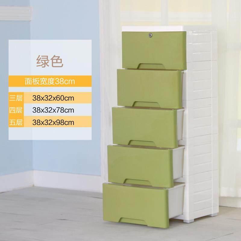 Plastic Children Drawer Cabinets Storage Box
