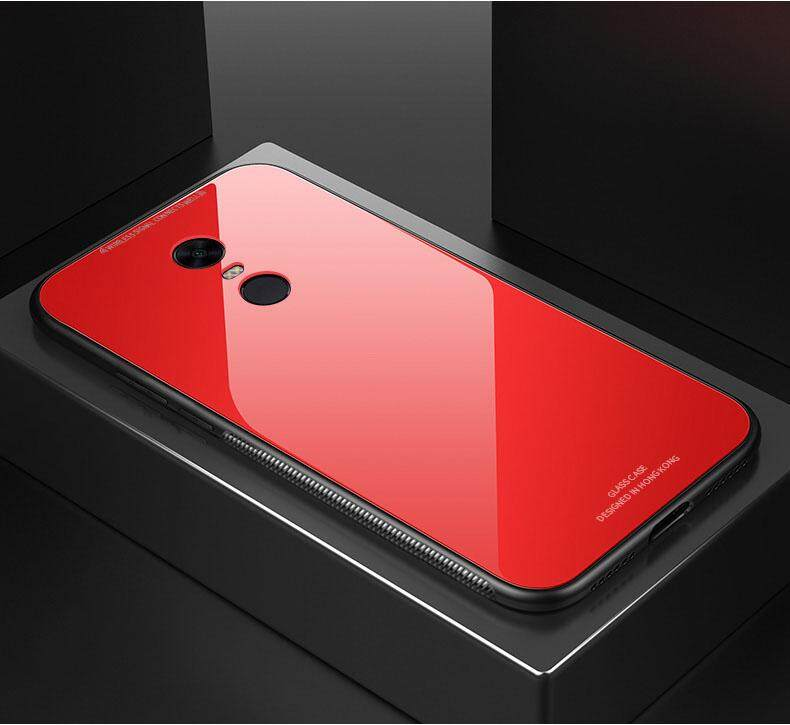 Untuk Redmi Note 4X Case Hong Kong Desain Fashion Tempered Pelindung Kaca Casing untuk Xiaomi Redmi Note 4X Kaca Penutup Belakang
