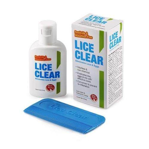 Lice Clear 70ml Anti- Kutu/Treat Head Lice (Free Comb X 2 bottles